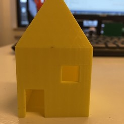 Free 3D printer model Little house, Palemar