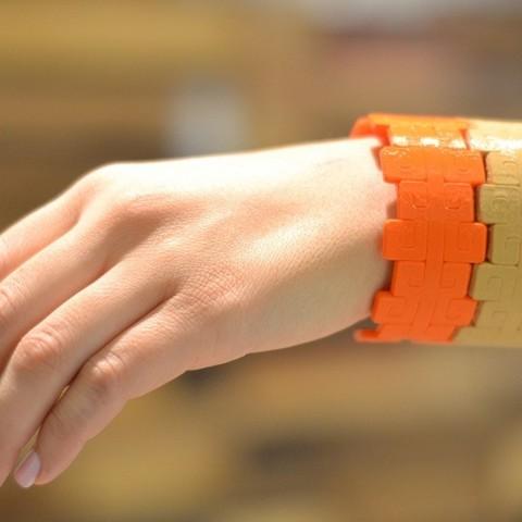 Télécharger fichier imprimante 3D gratuit Bracelet Aztèque en Pierre, Cilshell