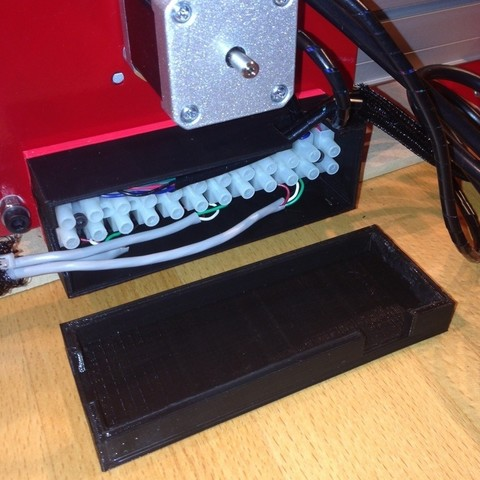 Download free 3D printer model ShapeOko Terminal enclosure, Cilshell