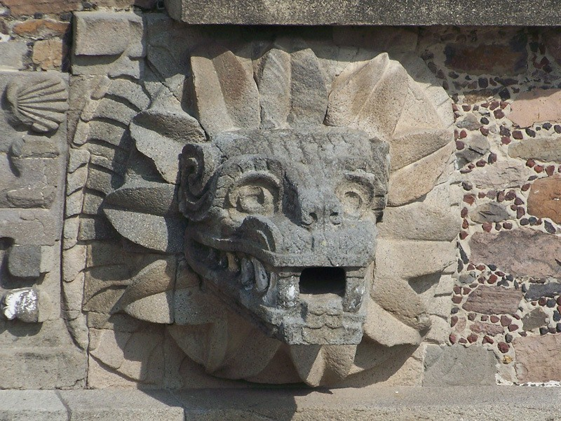 Teotihuacan_Quetzalcoatl_display_large.jpg Download free STL file Quetzalcoatl Bracelet • 3D printing design, Cilshell