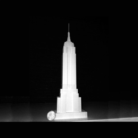 Free STL Empire State Building, Cilshell