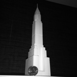 Download free 3D printing templates Chrysler Building, Cilshell