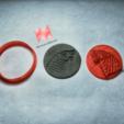 Archivos STL Cortador de galletas Game Of Thrones (+ cortador para hacer collares), markov3dsvet