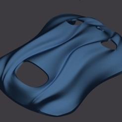 Free 3D printer designs Swirly Teal Super Sport, Fastidious_Rex