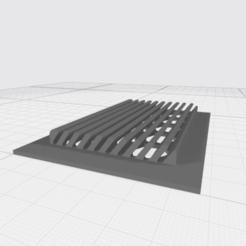 3D printing model Ventilation grid, davidsanchez572