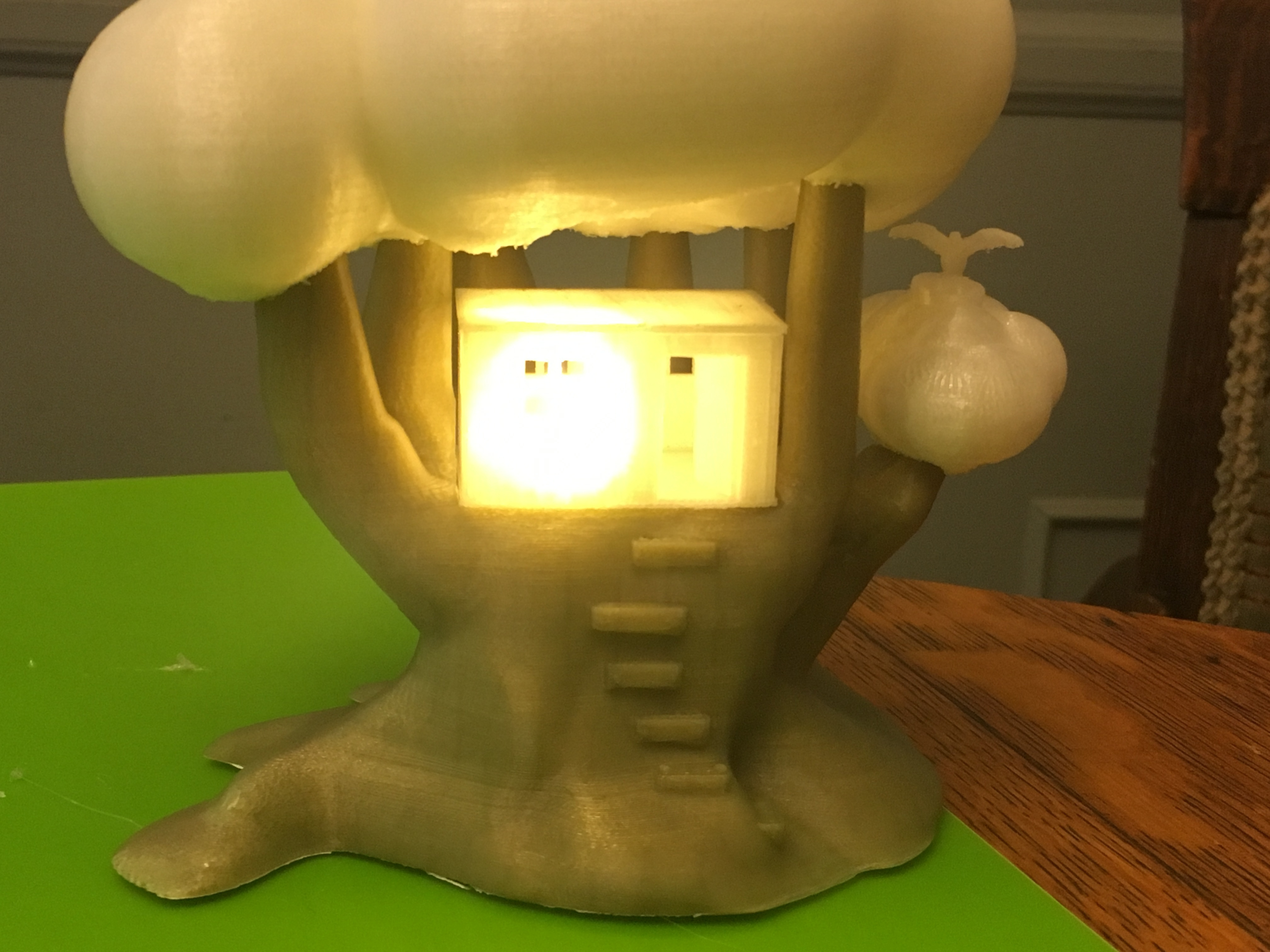IMG_5044.JPG Download free STL file Improved, but still pretty simple,Tree House Night Light • Design to 3D print, Pza4Rza