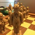 Download free 3D printing files Trump Chess - King Trump, Pza4Rza