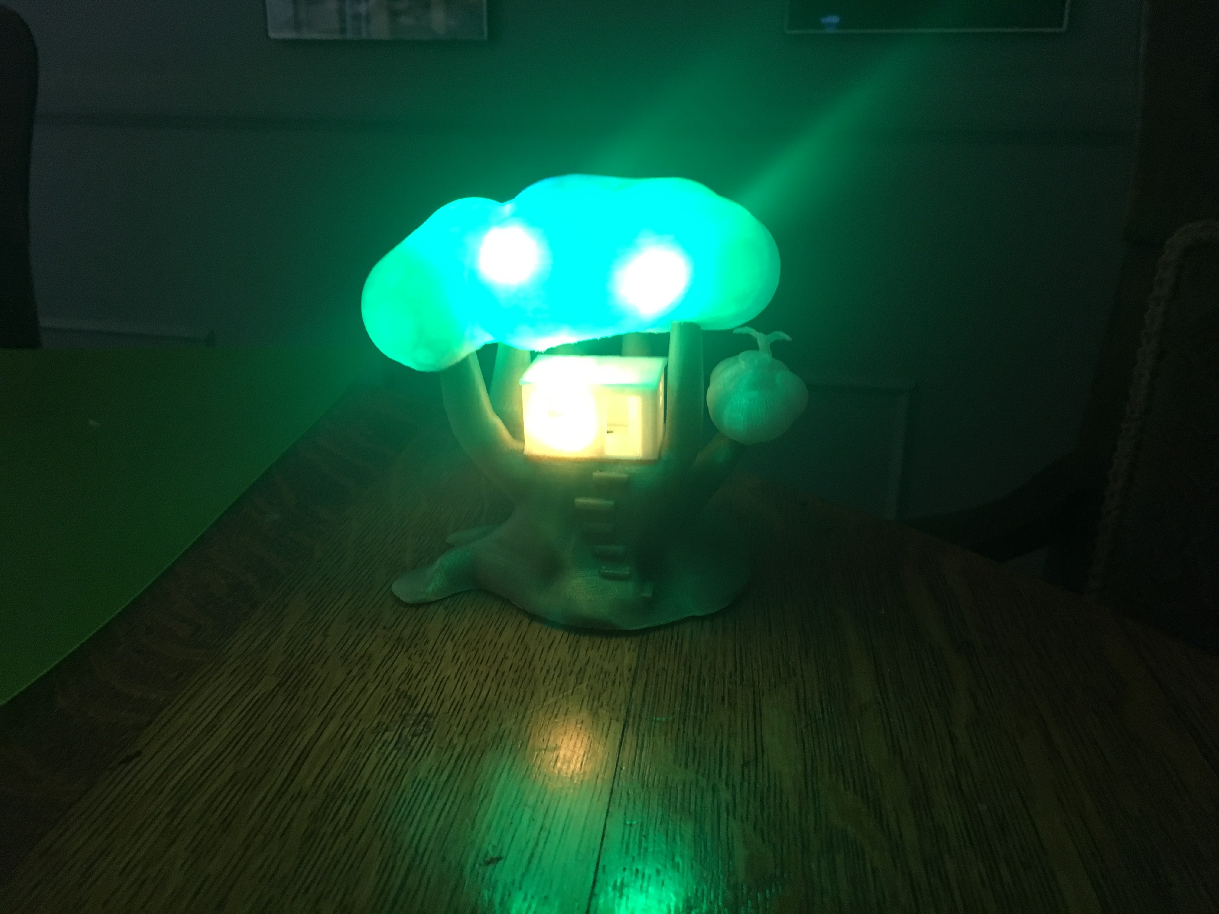 IMG_5036.JPG Download free STL file Improved, but still pretty simple,Tree House Night Light • Design to 3D print, Pza4Rza