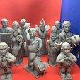 Free 3D print files Trump Chess, Pza4Rza