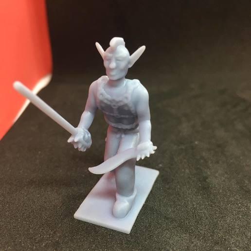 87961411_2928939973793040_2397845361927389184_n.jpg Download free STL file Eladrin Elf Rogue • 3D print model, Pza4Rza