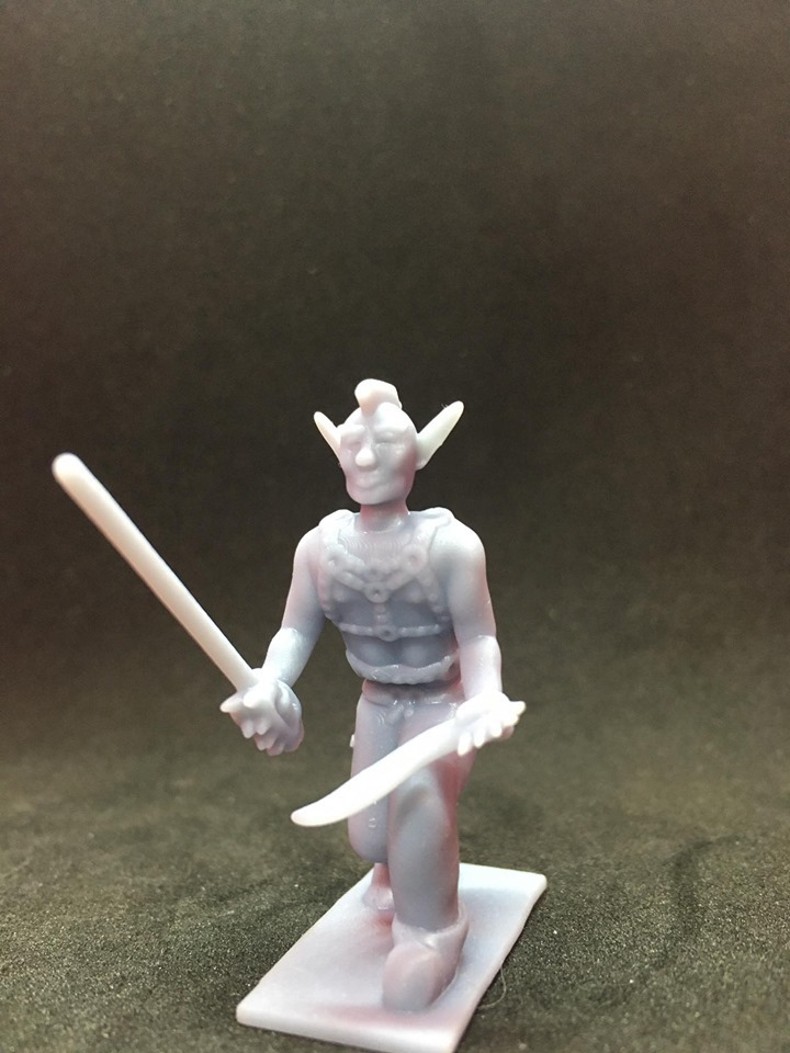 87184395_221219145590707_723797011232456704_n.jpg Download free STL file Eladrin Elf Rogue • 3D print model, Pza4Rza