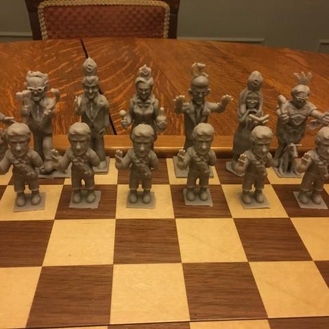 IMG_3123.JPG Télécharger fichier OBJ gratuit Trump Chess • Objet imprimable en 3D, Pza4Rza