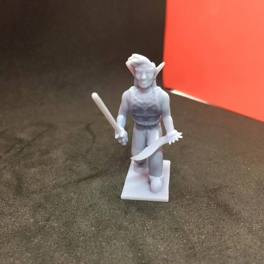 87159512_192495458753716_1348635085452083200_n.jpg Download free STL file Eladrin Elf Rogue • 3D print model, Pza4Rza