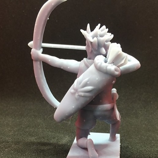 70223814_678889985949079_3150223344700227584_n.jpg Download free STL file Wood Elf Ranger • Object to 3D print, Pza4Rza