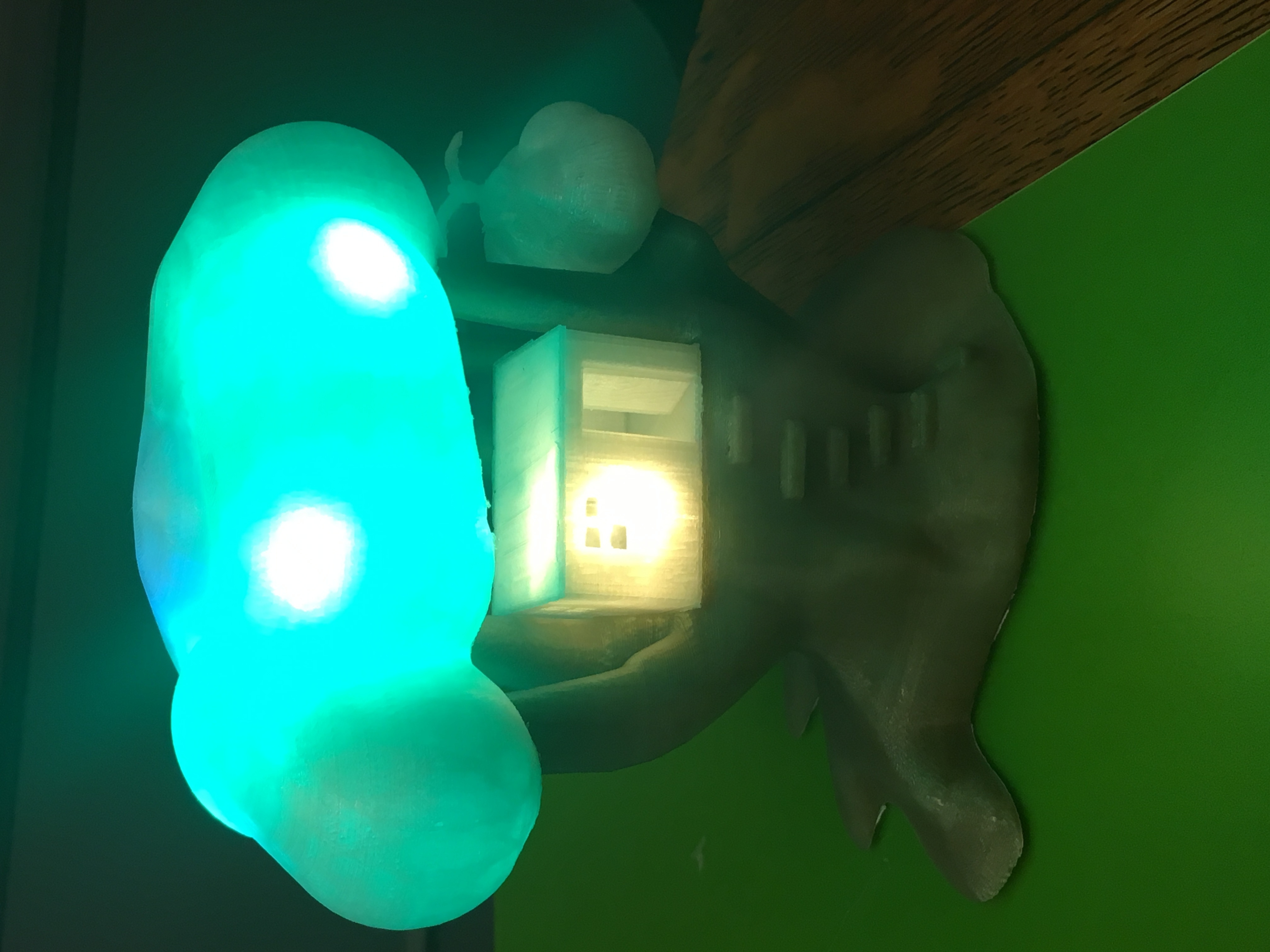 IMG_5052.JPG Download free STL file Improved, but still pretty simple,Tree House Night Light • Design to 3D print, Pza4Rza