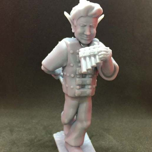 90800092_639223423303663_3290058688059932672_n.jpg Download free STL file Changeling Rogue/Bard without horns • Model to 3D print, Pza4Rza