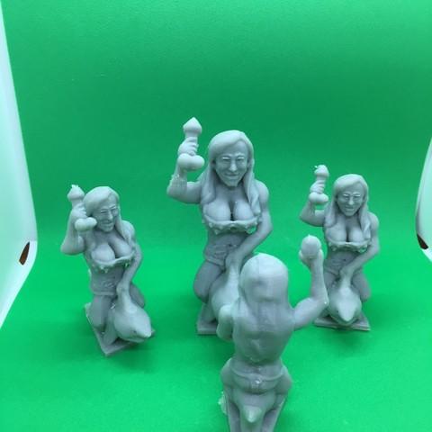 Free 3D print files Stromy Daniels, Pza4Rza