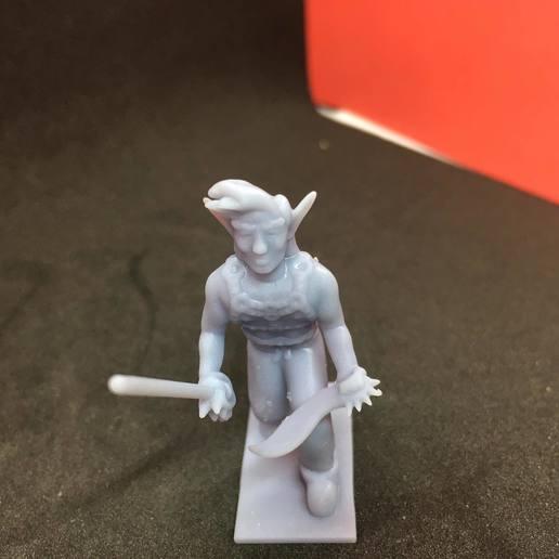 87952811_496579464366229_1882526750437539840_n.jpg Download free STL file Eladrin Elf Rogue • 3D print model, Pza4Rza