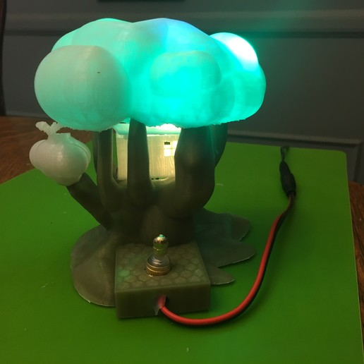 IMG_5064.JPG Download free STL file Improved, but still pretty simple,Tree House Night Light • Design to 3D print, Pza4Rza