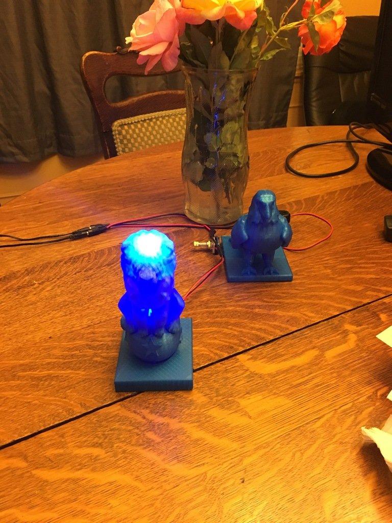 a2ab7b9d1aa7222dd5e99541ddcfa942_display_large.JPG Download free OBJ file Lion On Ball Nighlight/Lamp • 3D printable template, Pza4Rza