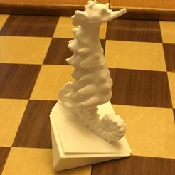 Free 3D printer model Stylized Sea Horse, Pza4Rza