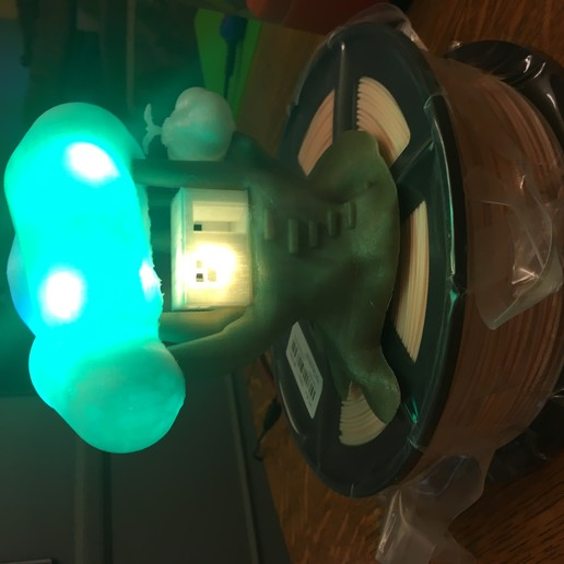 IMG_5070.JPG Download free STL file Improved, but still pretty simple,Tree House Night Light • Design to 3D print, Pza4Rza