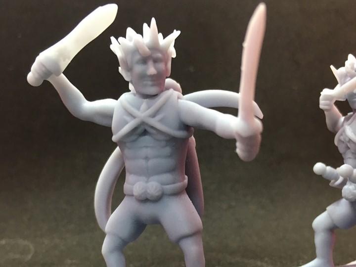70218024_2323855071200847_6448795787517231104_n.jpg Download free STL file Wood Elf Ranger • Object to 3D print, Pza4Rza
