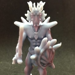 Download free 3D print files Dragonborn Barbarian, Pza4Rza