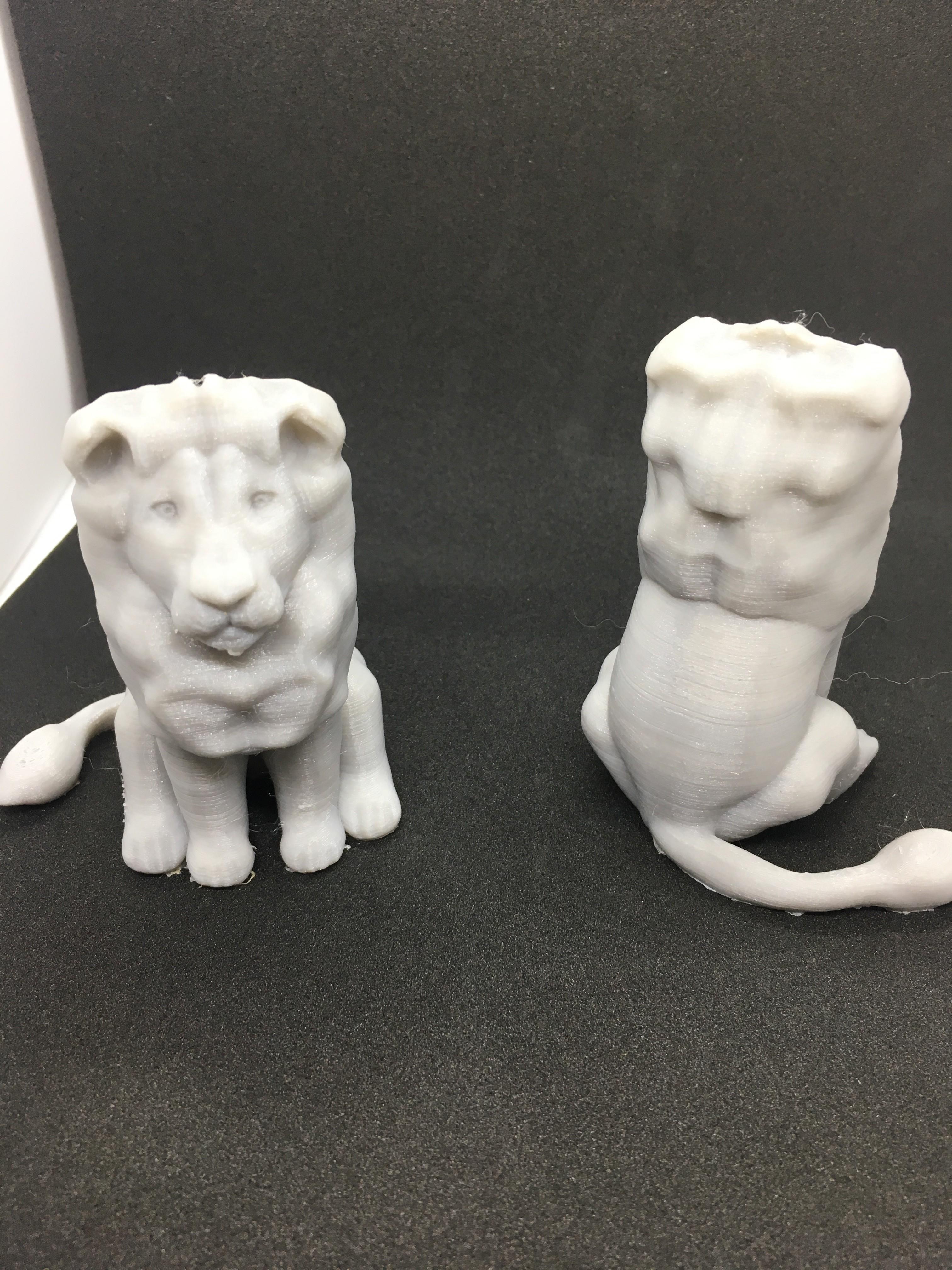 IMG_3640.JPG Télécharger fichier OBJ gratuit Lion assis • Design pour imprimante 3D, Pza4Rza