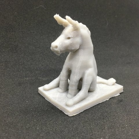 Download free 3D printing templates A simple donkey in a sitting position, Pza4Rza