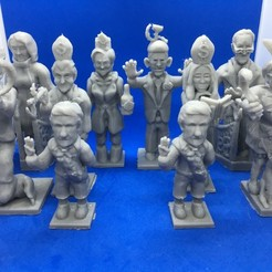 Download free 3D printer designs Trump Chess - The Resistance, Pza4Rza