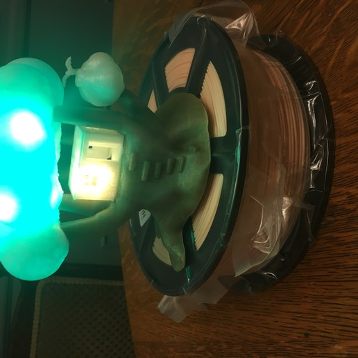 IMG_5069.JPG Download free STL file Improved, but still pretty simple,Tree House Night Light • Design to 3D print, Pza4Rza