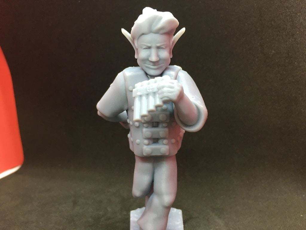 90764472_272692860384534_1186998376428732416_n.jpg Download free STL file Changeling Rogue/Bard without horns • Model to 3D print, Pza4Rza