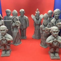 Download free 3D print files Trump Chess, Pza4Rza