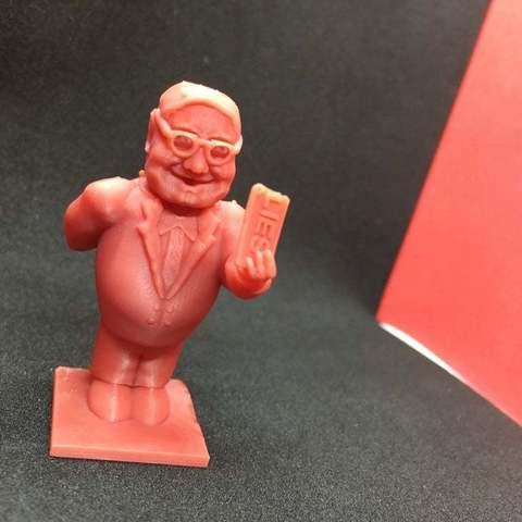 Free 3D printer files Trump Chess-Alternate Trump Pawn-AG William Barr, Pza4Rza