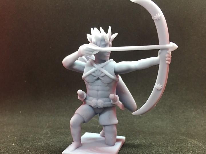 70962492_506344049934801_2629718796423659520_n.jpg Download free STL file Wood Elf Ranger • Object to 3D print, Pza4Rza