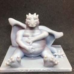 IMG_1836.JPG Download free STL file Fat Dragon • 3D printable object, Pza4Rza
