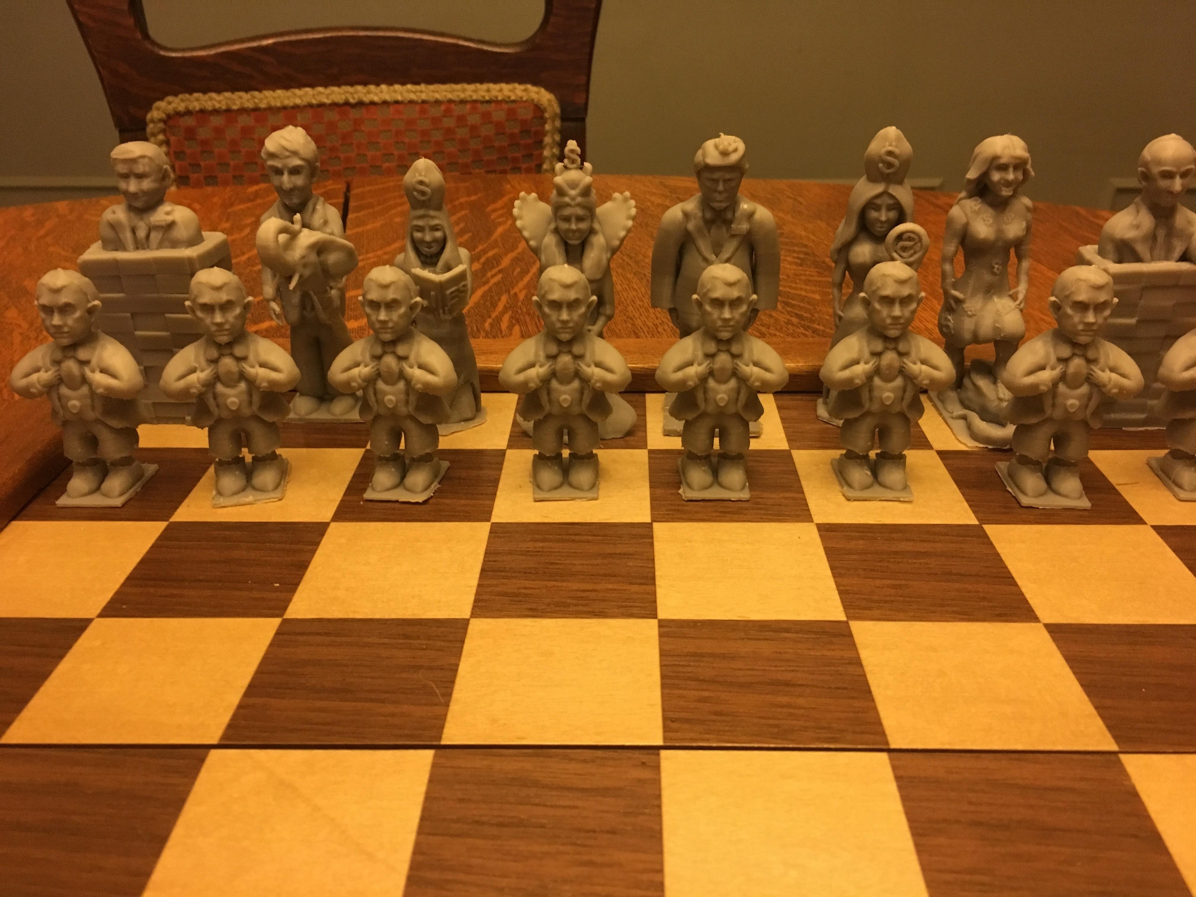 IMG_3121.JPG Télécharger fichier OBJ gratuit Trump Chess • Objet imprimable en 3D, Pza4Rza