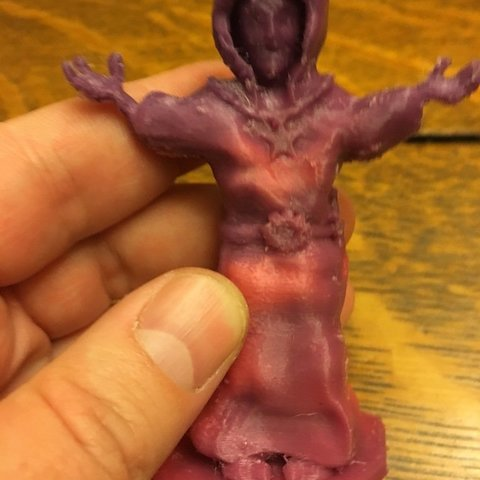 Download free 3D printer model Human Sorcerer, Pza4Rza