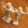 Download free 3D printing files Woodelf with Bow, Pza4Rza