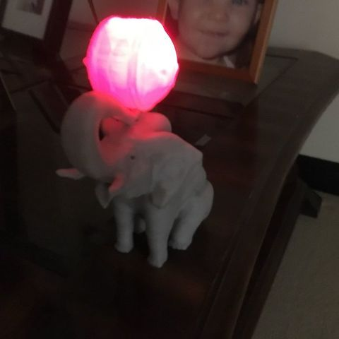 c8ac81f036394538adf41ab1af35a219_display_large.jpg Download free OBJ file Elephant with Circus Ball Lamp • Object to 3D print, Pza4Rza