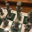 Download free 3D printer files Trump Chess-Alternate Resistance King-Puppeteer Putin, Pza4Rza