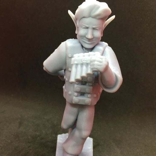 90712213_233571327766188_6586208404249772032_n.jpg Download free STL file Changeling Rogue/Bard without horns • Model to 3D print, Pza4Rza