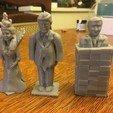 Free 3D printer files Trump Chess - King Trump, Pza4Rza