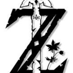 téléchargement_2.png Download free STL file Logo Zelda • Design to 3D print, Zeiden