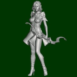 Human girl sagitarus - 1.jpg Download STL file Sagitarus • 3D printing design, xxxxxskynetxxxxx