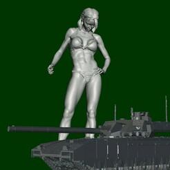 2.jpg Télécharger fichier STL gratuit Modèle de fitness - Maîtresse du jouet en colère • Design imprimable en 3D, xxxxxskynetxxxxx