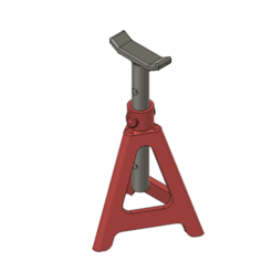 3D printing model Jack stand for RC models, Lucifer_scale_RC