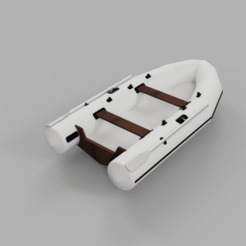 Download STL files 1/10 scale boat for trophy trailer, Lucifer_scale_RC