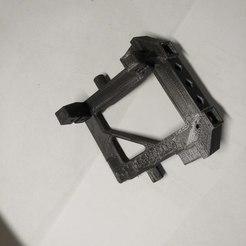 3D printing model TRX4 Bumper mount servo winch mount, Lucifer_scale_RC